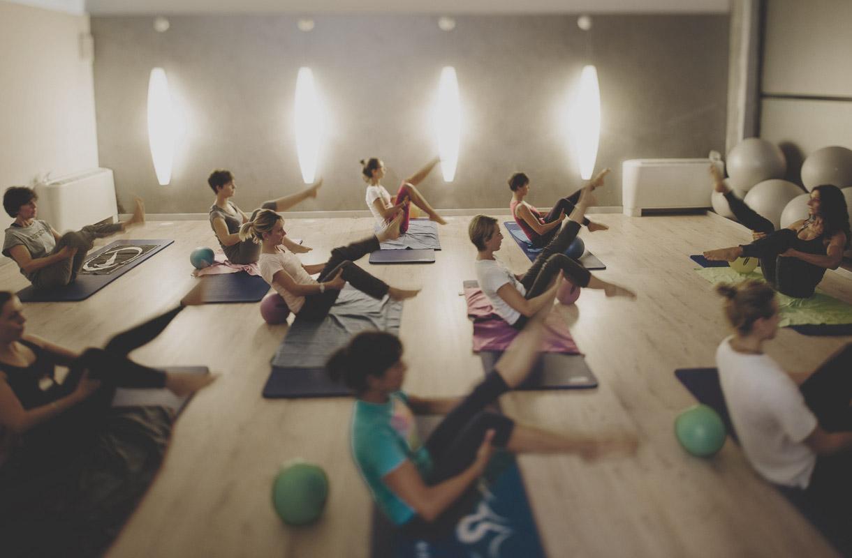 Mat Pilates Class - Pilates Studio Savigliano